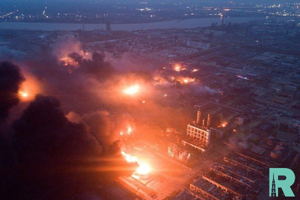 Из-за взрыва в Китае на химзаводе погибло 44 человек