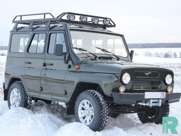 УАЗ выпустил экспедиционную версию УАЗ «Хантер» за 1 миллион