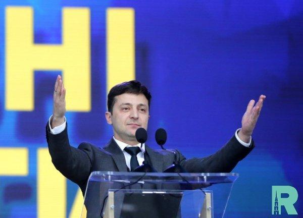 Зеленский одержал победу на выборах президента Украины