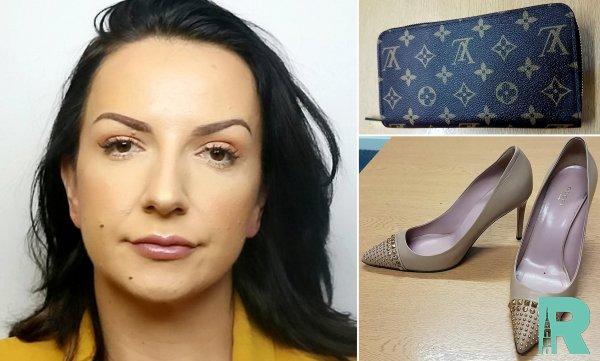 Бухгалтер потратила украденные тысячи фунтов на сумки и туфли