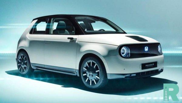 В Honda назвали имя нового электромобиля