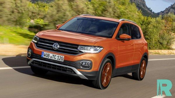 В Volkswagen готовят на базе Polo бюджетный вариант кроссовера