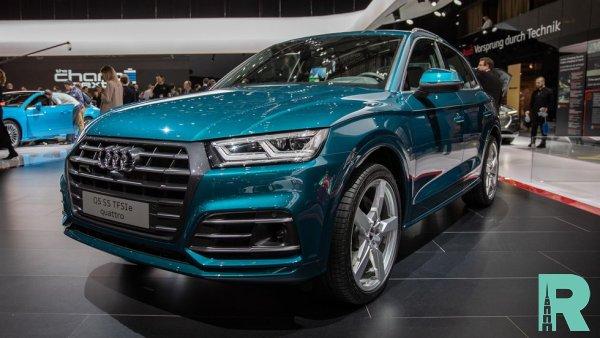 На кроссовер Audi Q5 установят гибридный мотор