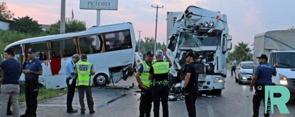 В Турции в ДТП пострадали российские туристы