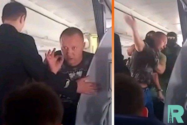 """Из-за буйного пассажира в Варшаве совершил экстренную посадку самолет """"Аэрофлота"""""""