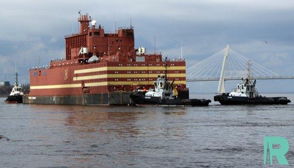 В России разрешен ввод в строй первого в мире плавучего блока АЭС