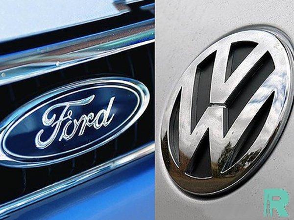Альянс Ford Volkswagen будет выпускать пикапы и электромобили