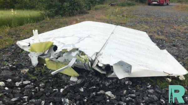 В Швеции из-за крушения самолета погибло девять человек (видео)