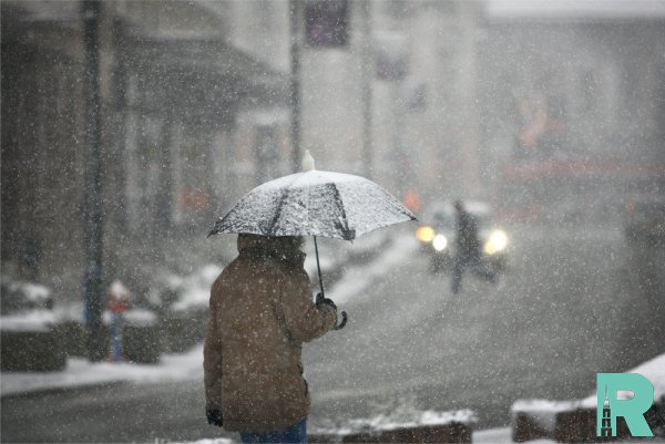 В некоторых районах Магаданской области выпал снег
