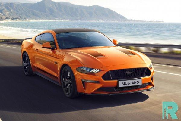 Ford выпустил для Европы юбилейный Mustang