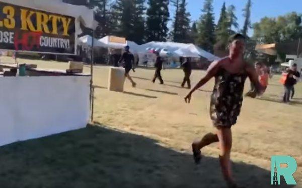 В Калифорнии на фестивале из-за стрельбы пострадало 60 человек