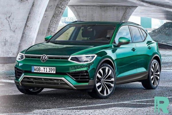 Появление нового Volkswagen Tiguan следует ожидать в 2022 году
