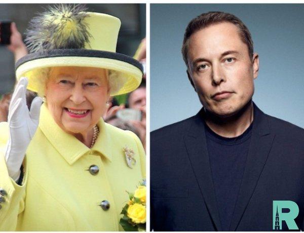 Илон Маск сравнил английскую королеву Елизавету II с телепузиком
