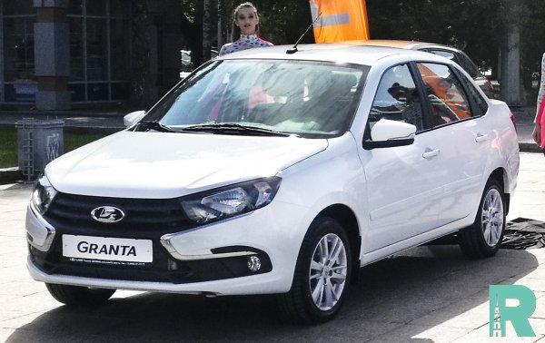 В июле самой продаваемой моделью стала LADA Granta