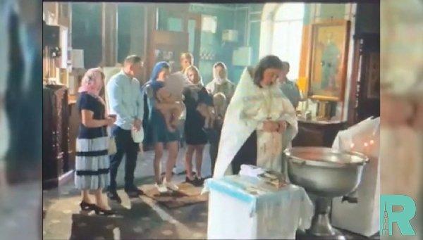 Гатчинской епархией даны свои комментарии по поводу агрессивного крещения ребенка
