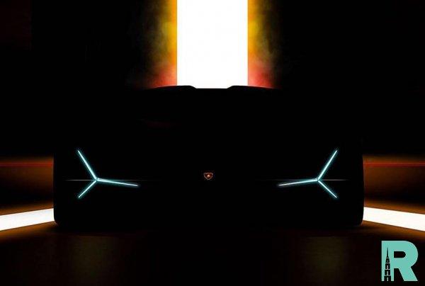 Lamborghini продемонстрировал тизер неизвестной модели