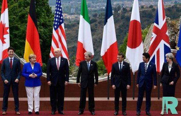 Трамп из-за России поссорился с лидерами G7