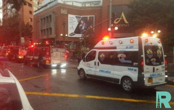 Из-за взрыва газа в США произошло обрушение торгового центра