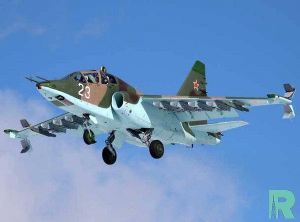 В Ставропольском крае разбился самолет Су-25УБ