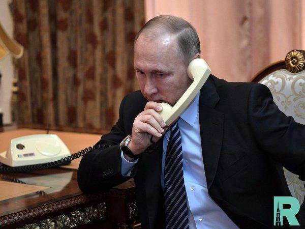 Путиным и Зеленским проведены телефонные переговоры