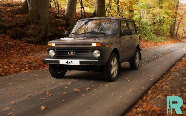 В России самым популярным внедорожником стала Lada 4x4