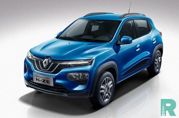 На рынок выходит дешевый электрокар Renault City K-ZE