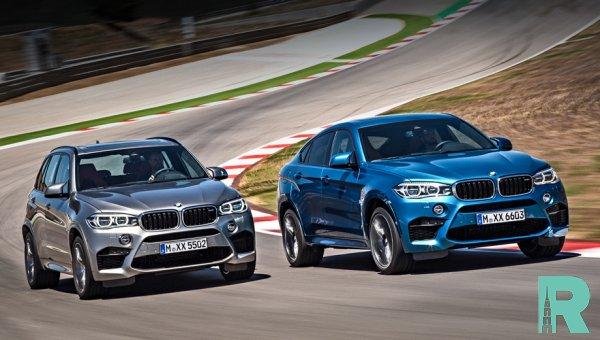 BMW выпустила «заряженные» версии кроссоверов X6 M и X5 M
