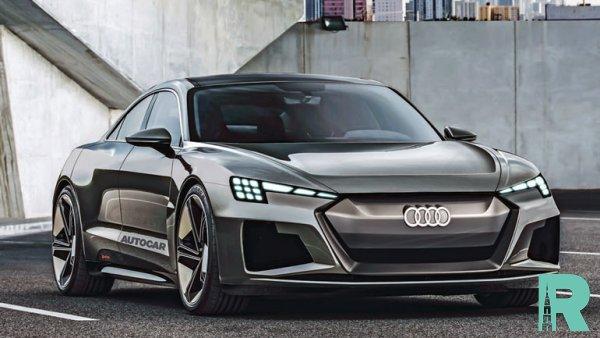 В Audi разрабатывают новое четырехдверное электрокупе