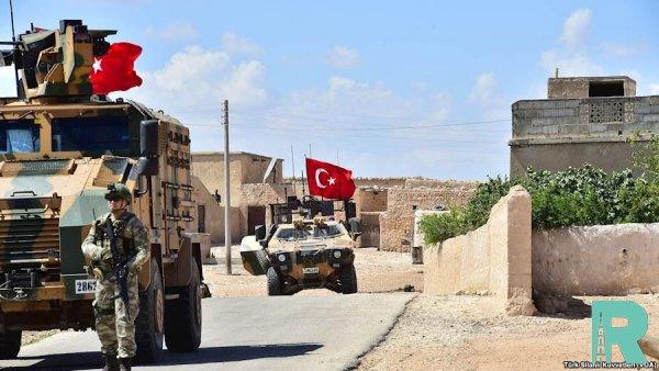 Турецкой армии удалось захватить в Сирии город Рас-эль-Айн