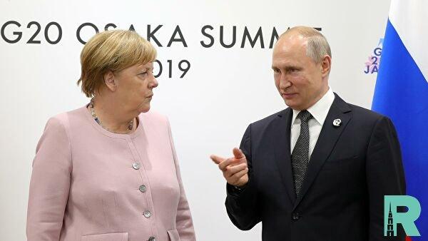 Между Путиным и Меркель прошли телефонные переговоры
