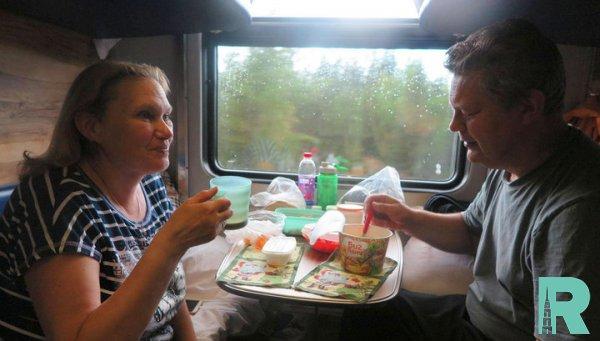 Финская журналистка рассказала о впечатлениях от путешествия в российском плацкарте
