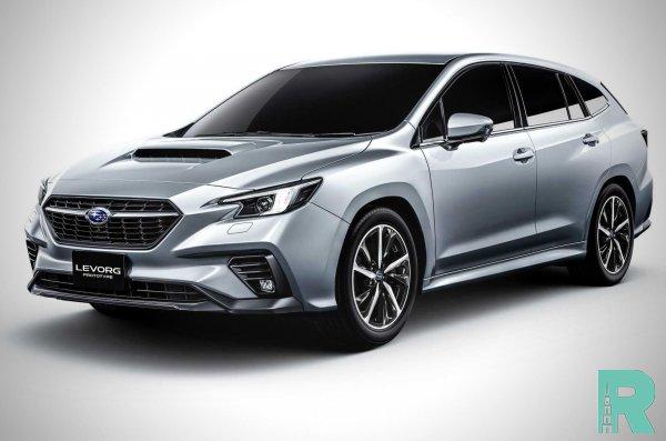Прошла презентация нового универсала Subaru Levorg с новым мотором