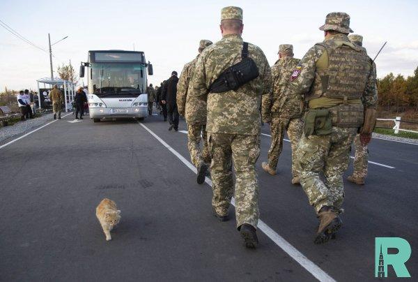 Украинский МИД заявил о начале в Золотом разведения сил
