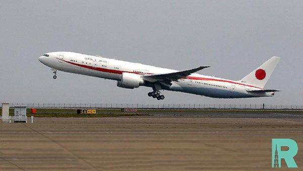 Пожар возник в самолете премьер-министра Японии