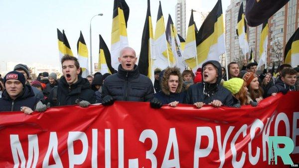 """""""Русский марш"""" в Москве закончился без происшествий"""