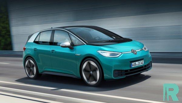 Электромобиль Volkswagen ID.3 запущен в серийное производство