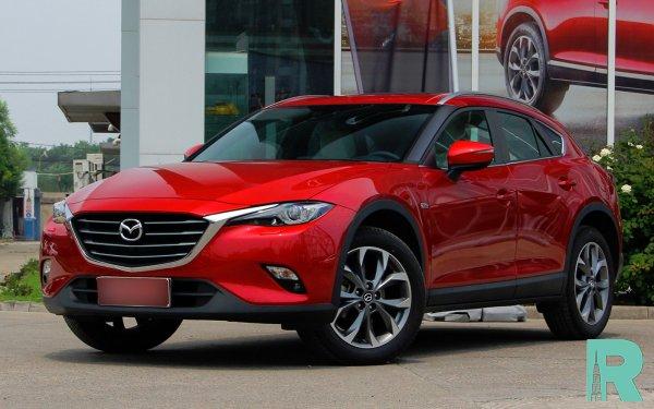 В продажу поступил новый кросс-купе Mazda CX-4