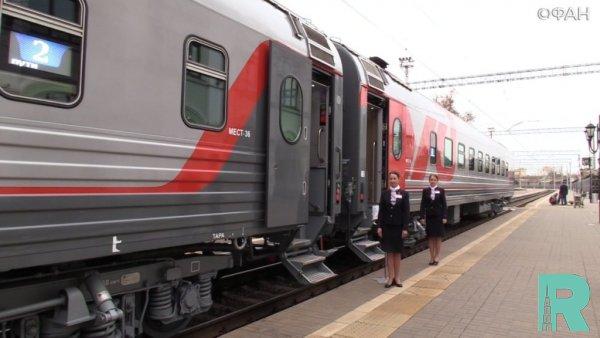 3,4 тысячи билетом продано на поезда в Крым