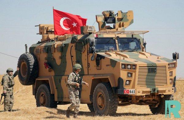 Турция в Сирии начала строительство военной базы