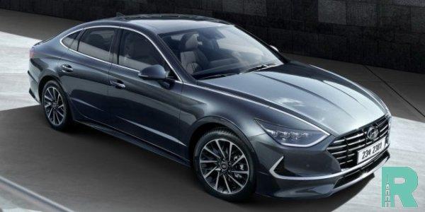 Названы цены в России новой Hyundai Sonata