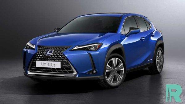 Lexus презентовал электрокроссовер UX 300e