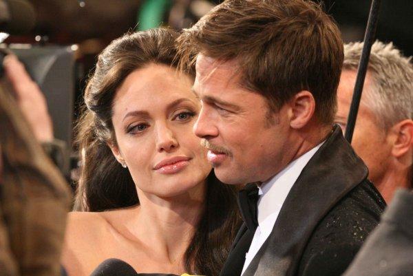 Анджелина Джоли возмущена поведением Бреда Пита