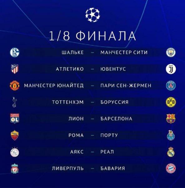 Лига чемпионов 2019 год расписание [PUNIQRANDLINE-(au-dating-names.txt) 31