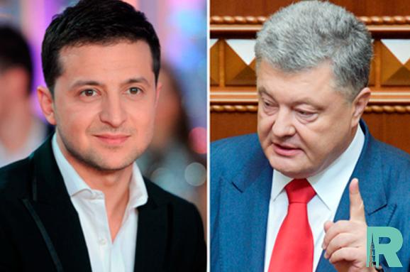 Порошенко и Зеленский проведут дебаты на стадионе