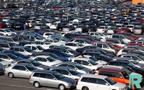 В России на 7% упали продажи автомобилей