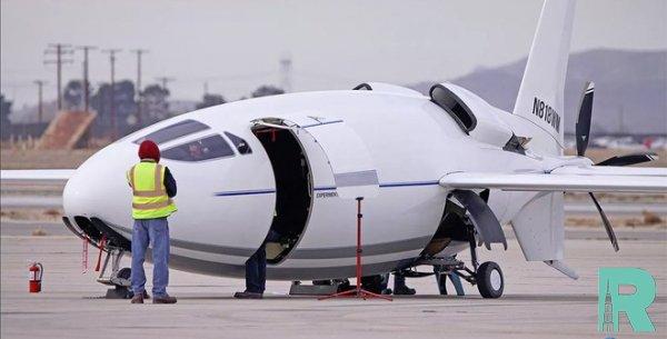 В США к первому полету готовят секретный самолет-пулю