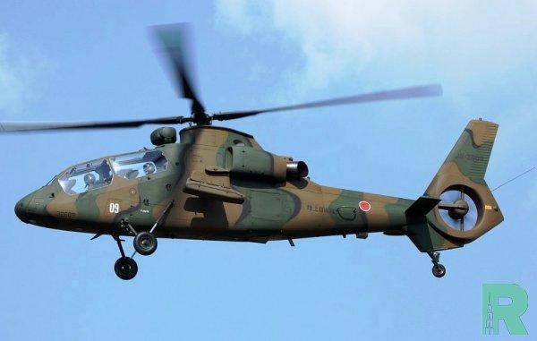 В Токио при посадке разбился вертолет с японскими военными