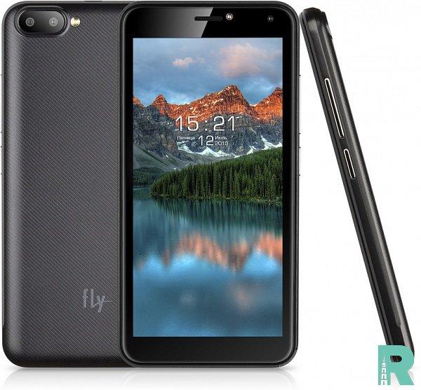 На российском рынке Fly презентовала один из самых дешевых смартфонов