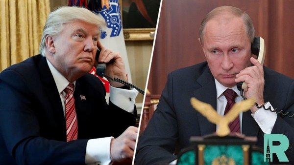 Трамп и Путин по телефону обсудили пожары в Сибири