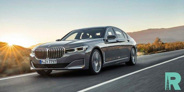 Новый BMW 7-Series превратится в электромобиль